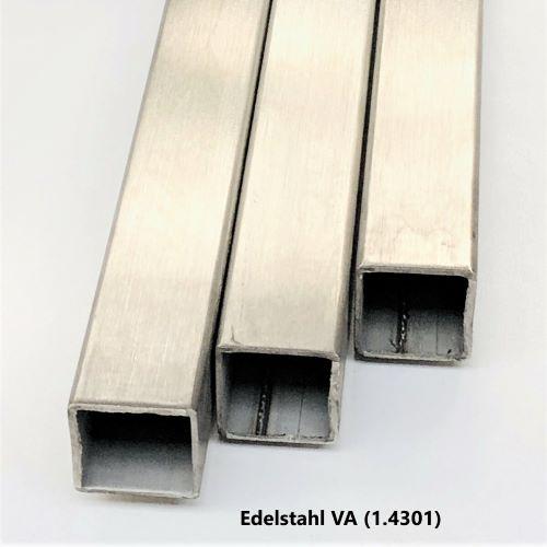 150cm Aluminium Rechteckrohr AW-6060-50x15x2mm auf Zuschnitt L: 1500mm